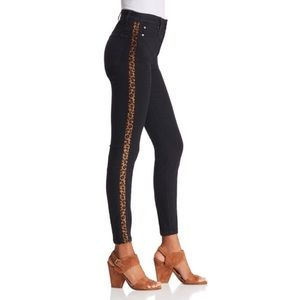 Joes Jeans the Charlie High Rise Leopard Stripe 25